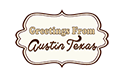 Greetings From Austin Texas Logo